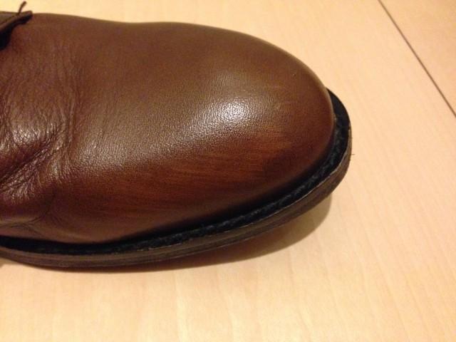 革靴の傷2